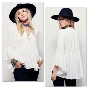 Free People A Few Of My Favorite Things Tunic Top
